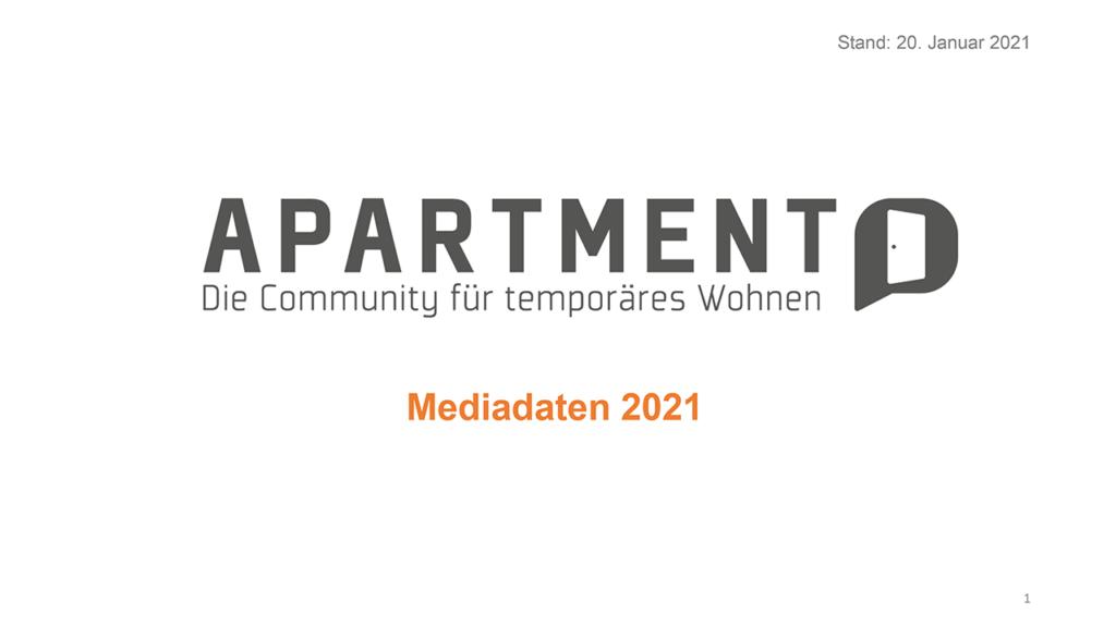 Apartment Community Mediadaten