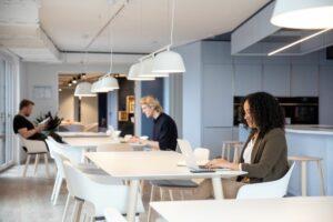 Alle Häuser der Marke verfügen über einen Co-Working-Space und Gemeinschaftsflächen. Bild: IC