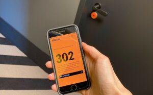 In der Stayery-App finden Gäste ihren digitalen Schlüssel. Bild: STAYERY